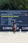 Anne Kathrin Pohlmeier - Lordswood Dancing Diamond<br /> Longines FEI/WBFSH World Breeding Dressage Championships for Young Horses 2017<br /> © DigiShots