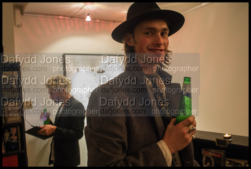 TIM NOBLE; GEORGE NAYLOR, Tim Noble exhibition curated by The Society Club. The Society Club. Soho. London.  15 October 2014.