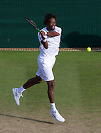 Gael Monfils (FRA)<br /> <br /> Tennis - Wimbledon 2015 - Grand Slam ITF / ATP / WTA -  AELTC - London -  - Great Britain  - 4 July 2015.