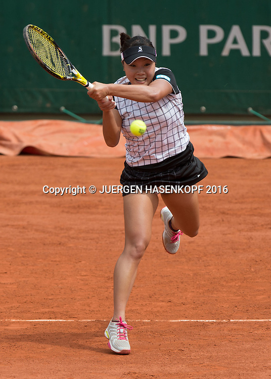 Kurumi Nara (JPN)<br /> <br /> Tennis - French Open 2016 - Grand Slam ITF / ATP / WTA -  Roland Garros - Paris -  - France  - 26 May 2016.
