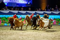 Shettlandponys<br /> München - Munich Indoors 2018<br /> Showabend - Die Nacht der WM Helden<br /> 24. November 2018<br /> © www.sportfotos-lafrentz.de/Stefan Lafrentz