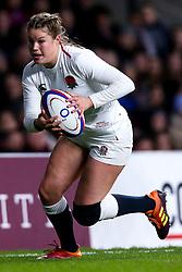Jess Breach of England Women - Mandatory by-line: Robbie Stephenson/JMP - 16/03/2019 - RUGBY - Twickenham Stadium - London, England - England Women v Scotland Women - Women's Six Nations