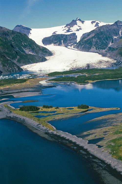 Alaska. Kenai Fjords NP . Bear Glacier.