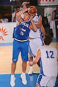 DESCRIZIONE : Bormio Torneo Internazionale Maschile Diego Gianatti Italia Israele <br /> GIOCATORE : Andrea Michelori <br /> SQUADRA : Nazionale Italia Uomini Italy <br /> EVENTO : Raduno Collegiale Nazionale Maschile <br /> GARA : Italia Israele Italy Israel <br /> DATA : 01/08/2008 <br /> CATEGORIA : Tiro <br /> SPORT : Pallacanestro <br /> AUTORE : Agenzia Ciamillo-Castoria/S.Silvestri <br /> Galleria : Fip Nazionali 2008 <br /> Fotonotizia : Bormio Torneo Internazionale Maschile Diego Gianatti Italia Israele <br /> Predefinita :