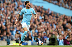 Kyle Walker of Manchester City - Mandatory by-line: Matt McNulty/JMP - 14/10/2017 - FOOTBALL - Etihad Stadium - Manchester, England - Manchester City v Stoke City - Premier League