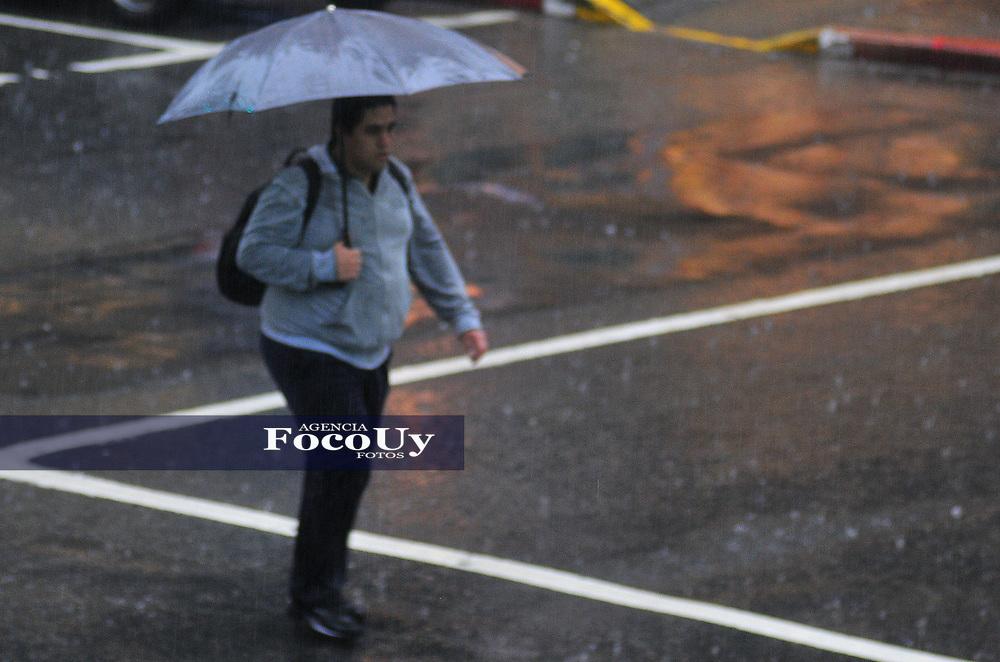 Montevideo, Uruguay 7 de Junio la semana de lluvia en imágenes y al fin el sol salió . Montevideo, Uruguay. Foto:Focouy