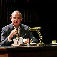 SHADOWLANDS by Nicholson ;<br /> Hugh Bonneville as C.S.Lewis (Jack) ;<br /> Directed by Rachel Kavanaugh ;<br /> Designed by Peter McKintosh ;<br /> Chichester Festival Theatre ;<br /> 1st May 2019 ;<br /> © Pete Jones<br />pete@pjproductions.co.uk