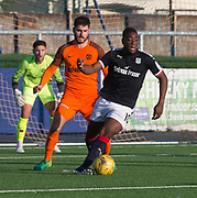 Dundee's trialist striker and Dundee United's Archie Thomas - Dundee under 20s v Dundee United in the SPFL Development League at Links Park, Montrose<br /> <br />  - &copy; David Young - www.davidyoungphoto.co.uk - email: davidyoungphoto@gmail.com