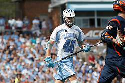 CHAPEL HILL, NC - APRIL 11: Jake Bailey #40 of the North Carolina Tar Heels plays against the Syracuse Orange on April 11, 2015 at Fetzer Field in Chapel Hill, North Carolina. North Carolina won 17-15. (Photo by Peyton Williams/US Lacrosse/Getty Images) *** Local Caption *** Jake Bailey