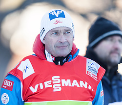 14.12.2013, Nordische Arena, Ramsau, AUT, FIS Nordische Kombination Weltcup, Langlauf Teamsprint, im Bild Ernst Vettori, Sportdirektor Sprunglauf Nordische Kombination OeSV (AUT) // Ernst Vettori (AUT) during Team Sprint Cross Country of FIS Nordic Combined <br /> World Cup, at the Nordic Arena in Ramsau, Austria on 2013/12/14. EXPA Pictures © 2013, EXPA/ JFK