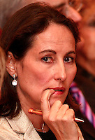 02 Apr 2007, Paris, France --- French Socialist Presidential candidate Segolene Royal attends a meeting organized by the French Socialist Party and the Party of European Socialists on the occasion of the 50th anniversary of the Treaty of Rome. --- Image by © Owen Franken/Corbis