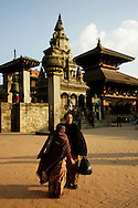 Bhaktapur Durbar Square - the magnificent workmanship of buildings, shrines and temples in Bhaktapur is comparable to those of Kathmandu and Patan.  The courtyards contain shrines dedicated to various deities - all richly carved.