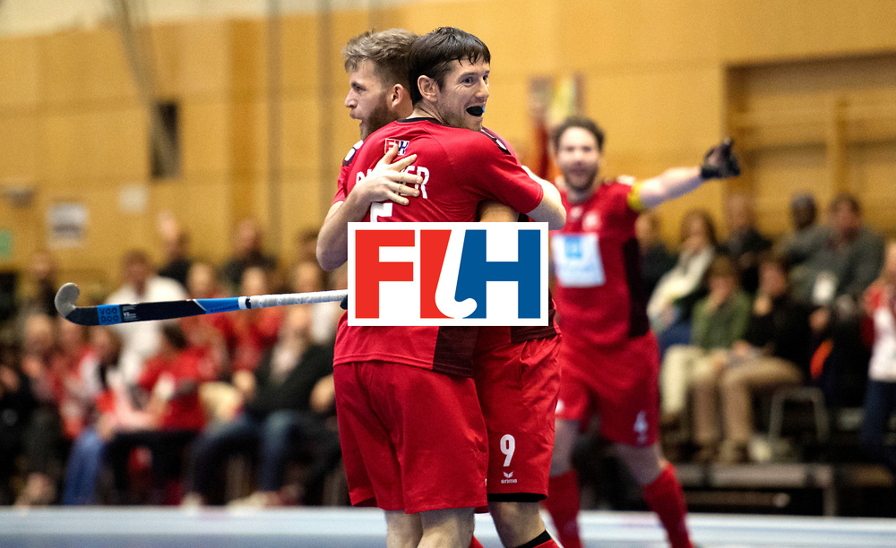 BERLIN - Indoor Hockey World Cup<br /> Kazakhstan - Poland<br /> foto: RICHNER Roman.<br /> WORLDSPORTPICS COPYRIGHT FRANK UIJLENBROEK