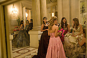 The 2008 Crillon Debutante Ball. Getting Ready the Day before. Crillon Hotel. Paris. 29 November 2008. *** Local Caption *** -DO NOT ARCHIVE-© Copyright Photograph by Dafydd Jones. 248 Clapham Rd. London SW9 0PZ. Tel 0207 820 0771. www.dafjones.com.