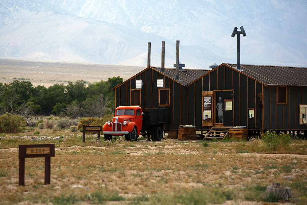 TKTK at the Manzanar National Historic Site on the eve of the 47th Annual Manzanar Pilgrimage on Friday, April 29, 2016 in the Owens Valley of Inyo County, Calif. Now a National Historic Site, the Manzanar War Relocation Center was one of ten camps where Japanese American citizens and resident Japanese aliens were interned during World War II. Photo by Patrick T. Fallon / Special to the National Parks Conservation Association