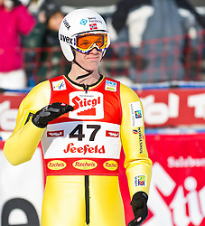 19.12.2011, Casino Arena, Seefeld, AUT, FIS Nordische Kombination, Ski Springen HS 109, im Bild Magnus Krog (NOR) // Magnus Krog of Norway during Ski jumping at FIS Nordic Combined World Cup in Sefeld, Austria on 20111211. EXPA Pictures © 2011, PhotoCredit: EXPA/ P.Rinderer