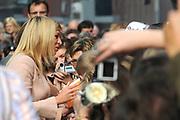 "Opening van het nieuwe stedelijk museum van Leuven ""M"" door Hare Koninklijke Hoogheid Prinses Máxima der Nederlanden en Hare Koninklijke Hoogheid Prinses Mathilde van België. //////Opening of the new city museum of Leuven ""M"" by Her Royal Highness Princess Máxima of the Netherlands and Her Royal Highness Princess Mathilde of Belgium."
