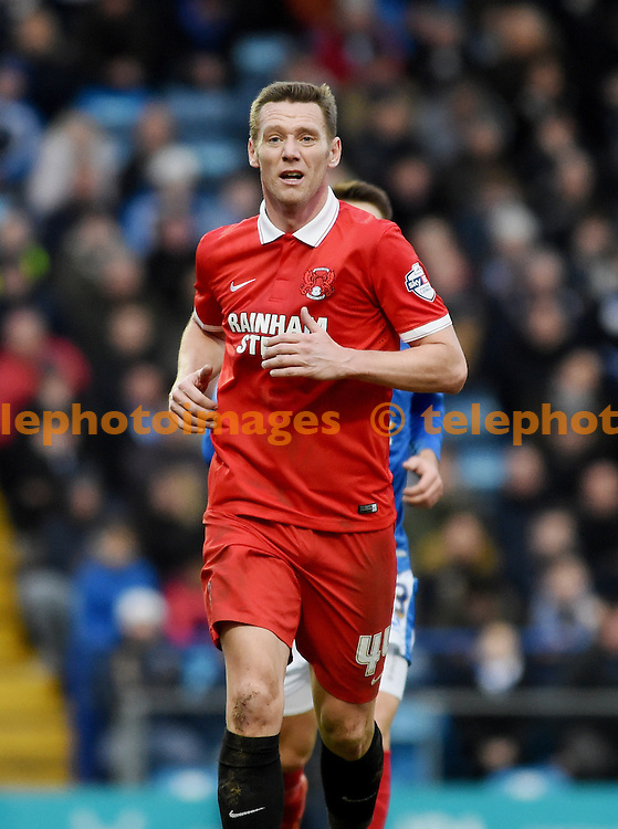 Player manager Kevin Nolan of Orient during the Sky Bet League 2 match between Portsmouth and Leyton Orient at Fratton Park in Portsmouth. February 6, 2016.<br /> Simon  Dack / Telephoto Images<br /> +44 7967 642437