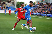 Peterborough United forward Ivan Toney (17) during the EFL Sky Bet League 1 match between Peterborough United and Accrington Stanley at London Road, Peterborough, England on 20 October 2018.