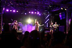 Banda Melody no espaço camarote do Planeta Atlântida 2013/RS, que acontece nos dias 15 e 16 de fevereiro na SABA, em Atlântida. FOTO: Itamar Aguiar/Preview.com