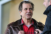 Dirk Benedict of A-Team fame during the EFL Sky Bet League 2 match between Forest Green Rovers and Scunthorpe United at the New Lawn, Forest Green, United Kingdom on 7 December 2019.