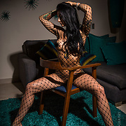 Boudoir shoot for new fitness consulting service targeting adult entertainment industry