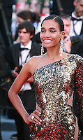 Arlenis Sosa at the Two Days, One Night (Deux Jours, Une Nuit) gala screening red carpet at the 67th Cannes Film Festival France. Tuesday 20th May 2014 in Cannes Film Festival, France.