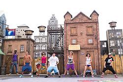 27.06.2012, Arganda del Rey, Mardid, ESP, Rock In Rio Madrid 2012, Vorbereitungen, im Bild Dancers // during preparation of Festival Ciudad del Rock 2012 'Rock In Rio Madrid 2012' at Arganda del Rey, Mardid, Spain on 2012/06/27. EXPA Pictures © 2012, PhotoCredit: EXPA/ Alterphotos/ Marta Gonzalez..***** ATTENTION - OUT OF ESP and SUI *****