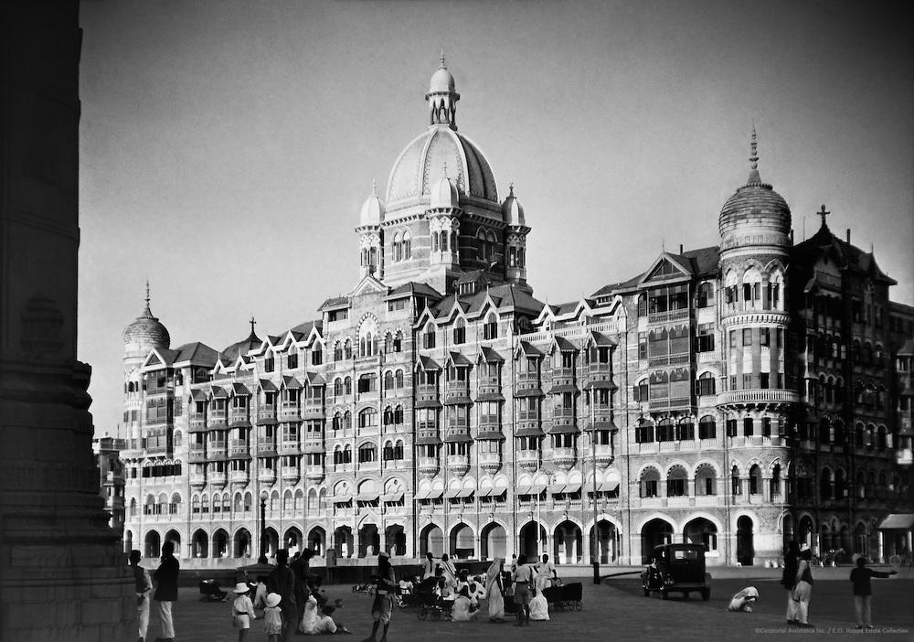 The Taj Mahal Hotel, Bombay, India, 1929