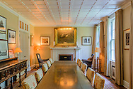 """Main residence, """"Shepard Krech House"""" c.1931, was designed by architect Arthur C. Jackson. Completely renovated in 1990 by architect Peter Marino,  Briar Patch Rd, East Hampton, NY"""
