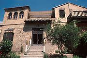 SPAIN, LA MANCHA, TOLEDO Casa y Museo El Greco; Juderia