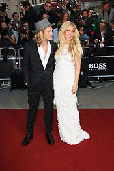 © Licensed to London News Pictures. 02/09/2014, UK. Ellie Goulding; Dougie Poynter, GQ Men of the Year Awards, Royal Opera House Covent Garden, London UK, 02 September 2014. Photo credit : Richard Goldschmidt/Piqtured/LNP