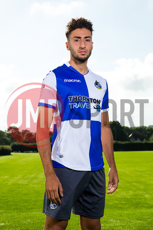 Mo Baghdadi poses during a portrait session with the Bristol Rovers Development Squad - Rogan Thomson/JMP - 15/08/2017 - FOOTBALL - The Lawns Training Ground - Bristol, England.
