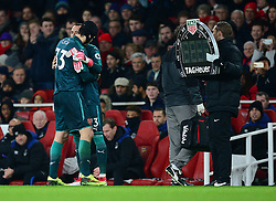 David Ospina of Arsenal replaces Petr Cech of Arsenal - Mandatory by-line: Alex James/JMP - 03/02/2018 - FOOTBALL - Emirates Stadium - London, England - Arsenal v Everton - Premier League