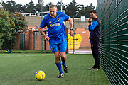 AFC Wimbledon and Crystal Palace walking football during the Pre-Season Friendly match between AFC Wimbledon and Crystal Palace at the Cherry Red Records Stadium, Kingston, England on 30 July 2019.
