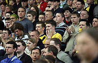 Photo: Rich Eaton.<br /> <br /> Oxford United v Leyton Orient. Coca Cola League 2. 06/05/2006.<br /> <br /> Glum Oxford fans as they watch their team relegated