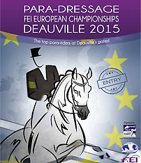 European Championships Para Dressage Deauville 2015