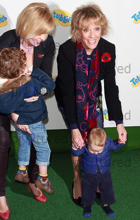 Esther Rantzen, Teletubbies - World Premiere, BFI Southbank, London UK, 25 October 2015, Photo by Brett D. Cove