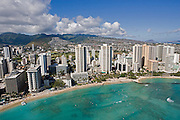 Waikiki Beach, Waikiki, Oahu, Hawaii<br />