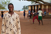 Nurudeen Amadoo is the facilitator of the gender club at Tonga Junior High School in Talensi Nabdam, Ghana.