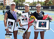 FIU Tennis Senior Day 2018