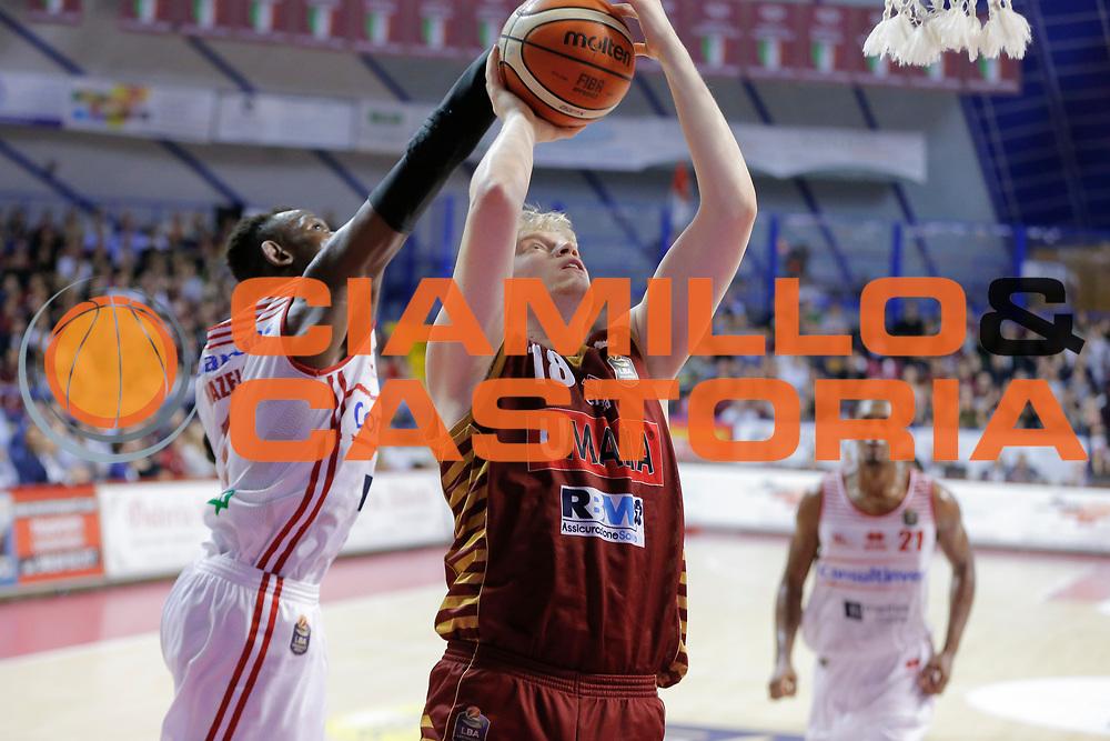 Martino Criconia<br /> Umana Reyer Venezia - Consultinvest Pesaro<br /> Lega Basket Serie A 2016/2017<br /> Venezia 05/03/2017<br /> Foto Ciamillo-Castoria
