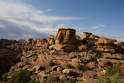 Big Spring Canyon Overlook, The Needles District of Canyonlands National Park, south of Moab, Utah.