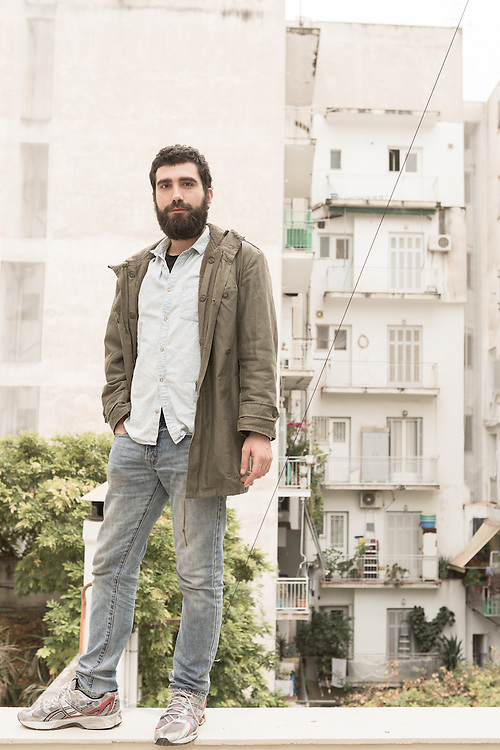 Atene, Dec. 2014 - Antonis Theodoridis (30) fotografo - Grecia: Reaction Era