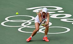 20160808 Rio 2016 Olympics - Tennis Wozniacki-Kvitova