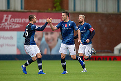Raith Rovers Michael Miller celebrates after scoring their first goal. Raith Rovers 2 v 2 Falkirk, Scottish Football League Division One played 5/9/2019 at Stark's Park, Kirkcaldy.