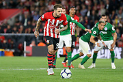 GOAL 2-0 Southampton striker Danny Ings (9) shoots and scores from the penalty spot during the Premier League match between Southampton and Brighton and Hove Albion at the St Mary's Stadium, Southampton, England on 17 September 2018.