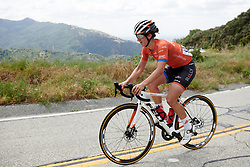 Sara Bergen (CAN) at Amgen Tour of California Women's Race empowered with SRAM 2019 - Stage 2, a 74 km road race from Ontario to Mount Baldy, United States on May 17, 2019. Photo by Sean Robinson/velofocus.com