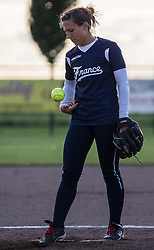 Alienor Toumit, European Softball Woman Championship 2015.