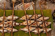grilled river fish, Luang Prabang market, Lao